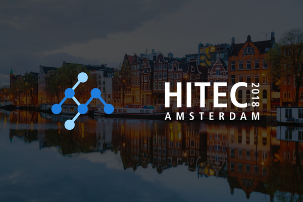 Visit our booth at HITEC Amsterdam this April!